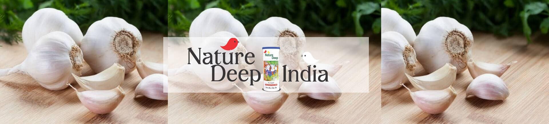 sumitomo naturedeep for garlic crop desktop banner